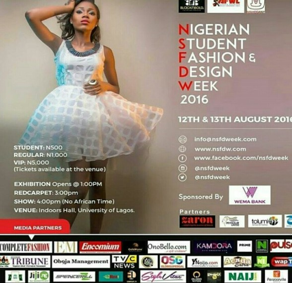 Nigerian Student Fashion And Design Week Nsfdw 2016 Day 1 Wycheefashion